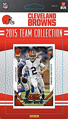 Cleveland Browns 2015 Score Factory Sealed Complete Mint 15 Card Team Set Including Johnny Manziel Danny Shelton Rookie Plus