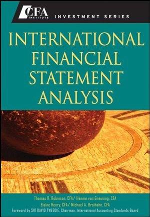 International Financial Statement Analysis (CFA Institute...