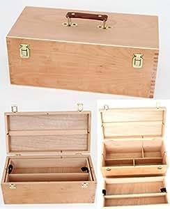 Meister - Cassetta per attrezzi da pittura, in legno ...