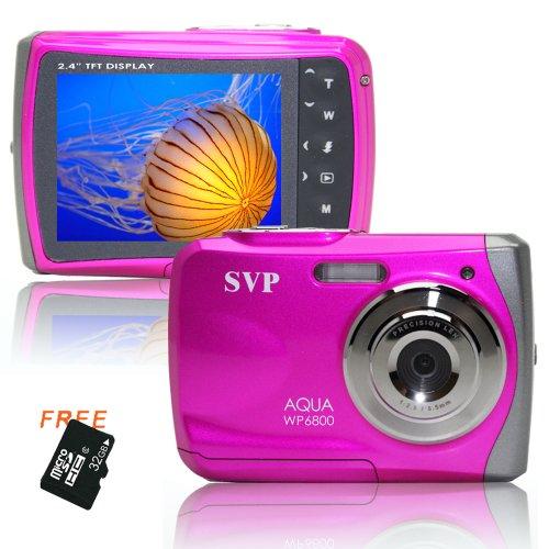 18MP Pink WP6800 (Micro 32GB) 2.4