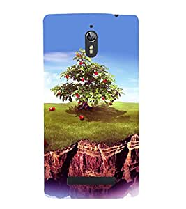 printtech Apple Tree Back Case Cover for Oppo Find 7 :: Oppo Find 7 QHD