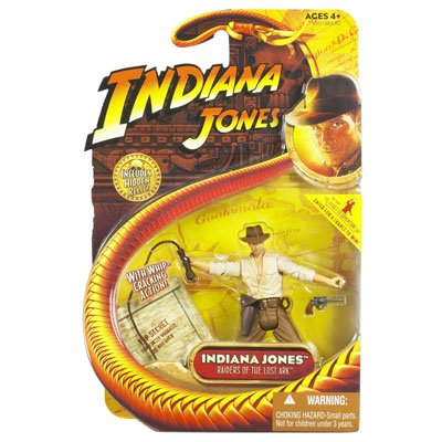 Picture of Hasbro Indiana Jones Action Figure: Indiana Jones (B001286M8S) (Hasbro Action Figures)