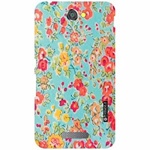 Back Cover For Sony Xperia E4 (Printed Designer)