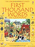 First Thousand Words in German (Usborne First Thousand Words)