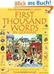 First Thousand Words in German (Usbor...