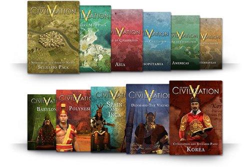 Sid Meier's Civilization V - Szenario Pack: Wonders of the Ancient World DLC [Mac Steam Code]