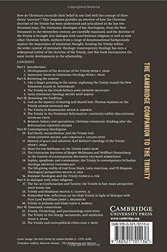 The Cambridge Companion to the Trinity Paperback (Cambridge Companions to Religion)