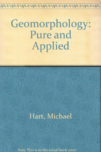 Geomorphology: Pure and Applied