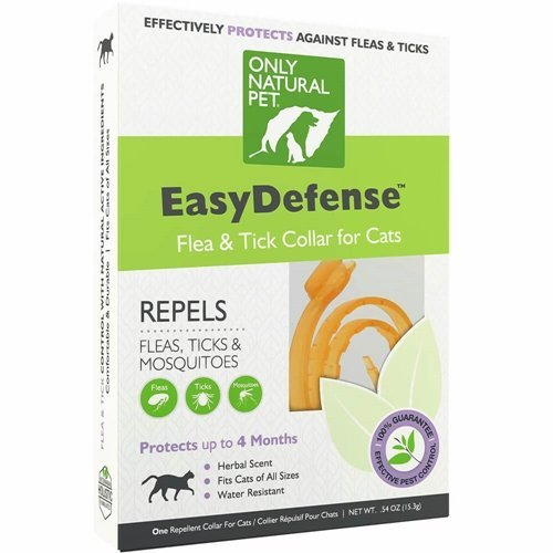 Easy Defense - Natural flea and tick collar for cats