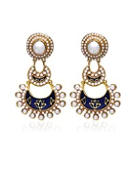 Zaveri Pearls Dangle & Drop Earings For Women - Multi-Colour
