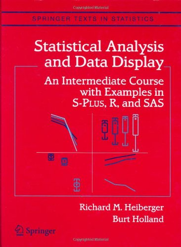 Statistical Analysis and Data Display: An Intermediate...