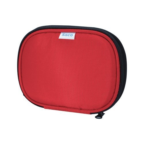 Saco Shock Proof External Hard Disk Case For Seagate Expansion 500GB Portable External Hard Drive - Red - B010SCIA10