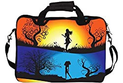Snoogg Laptop Netbook Computer Tablet PC Shoulder Case Carrying Sleeve Bag Pouch Cover Protector Holder For Apple iPad/ Hp Touchpad Mini 210 T100 hp Touchpad Mini t100ta/Acer Aspire One/Lenovo Ideatab S6000 /Lenovo Yoga 10 HD+ And Most 13