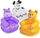 aufblasbarer Kinder Sessel Tiermotiv Nilpferd Kinderzimmer Garten