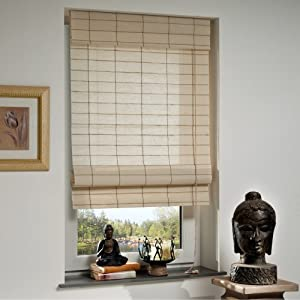 liedeco raffrollo aus jute 39 natur 39 rollo b 120 cm. Black Bedroom Furniture Sets. Home Design Ideas