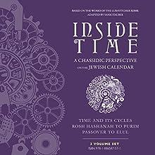 Inside Time 3 Volume Set Audiobook by Yanki Tauber Narrated by Shlomo Zacks