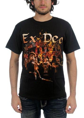 Ex Deo - Top - Uomo nero XX-Large