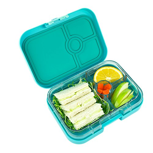yumbox leakproof bento lunch box container fifth avenue blue for kids and adults. Black Bedroom Furniture Sets. Home Design Ideas