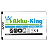 Akku-King Battery for Motorola V525 A630 A780 V60 V300 V400 V500 V550 V555 V600 E550 E680 - replaces BA600 / A760 / SNN5683 - Li-Ion 1150mAh