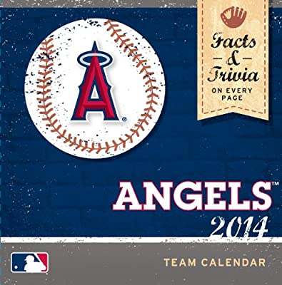 Turner - Perfect Timing 2014 Los Angeles Angels Box Calendar (8051237)