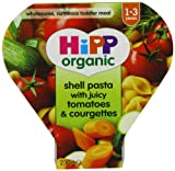 Hipp Organic Shell Pasta with Juicy Tomatoes and Courgettes Tray Meal from 12 Months 230 g (Pack of 5)
