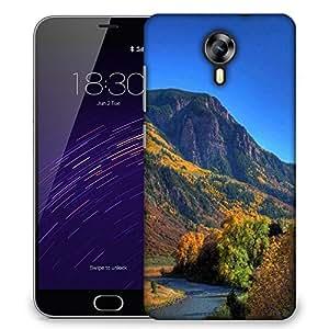 Snoogg Blossom Autumn Designer Protective Phone Back Case Cover For Meizu M2