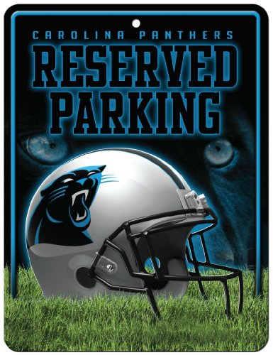 NFL Carolina Panthers Parking Sign