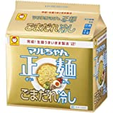 マルちゃん マルちゃん正麺ごまだれ冷し5P×6個