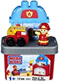 Mega Bloks Play N Go Fire Station
