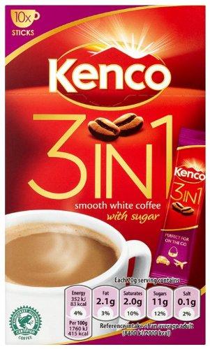 Kenco 3 in 1 200 g (Pack of 4)