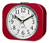 Acctim 14444 Murrino Alarm Clock, Red
