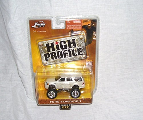 Jada High Profile FORD EXPEDITION Bone/Off White in Color Diecast 1:64 Scale From 2006 (Jada Toys High Profile 1 64 compare prices)