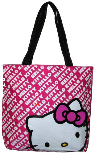 Hello Kitty Tote Bag Pink