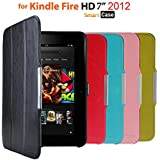 "Armel® Ultra Slim Kindle Fire HD Smart Case Cover for Amazon Kindle Fire HD 7"" Tablet (2012 Model) with Magnetic Auto Sleep/Wake Feature (2012 Release)"