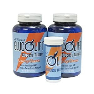Glucolift Orange Cream 2-pack with Free Travel Tube