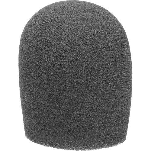 "Auray Foam Windscreen For 1-3/8"" Diameter Microphones (Black)"
