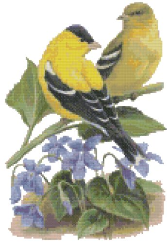 New Jersey State Symbol Counted Cross Stitch Pattern