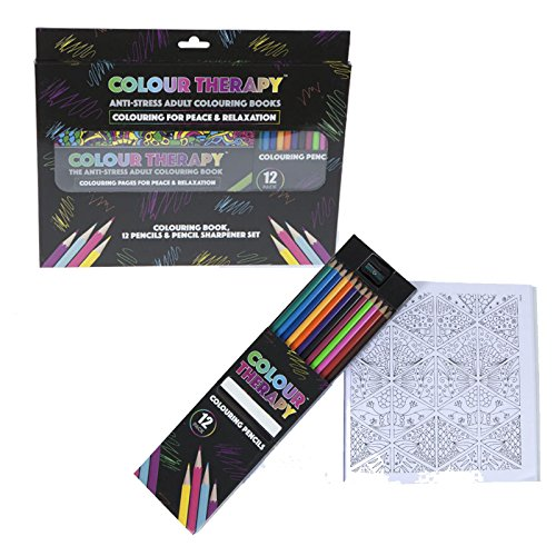 deluxe-colour-therapy-anti-stress-pattern-colouring-book-pencils-sharpener-set