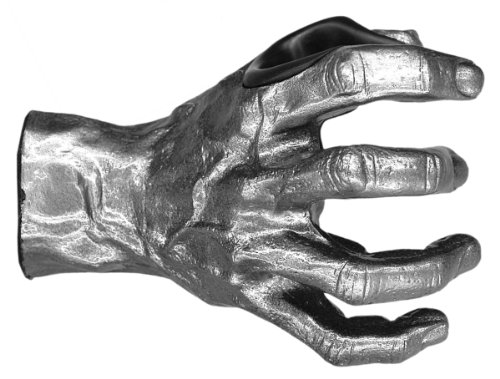 Grip Studios Metal Mayhem Custom Guitar Hanger Right Hand Model Silver