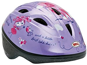Bell Toddler Zoomer Bike Helmet (Castle/Purple)