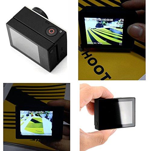 SHOOT-Schermo-non-a-tocco-LCD-a-2-pollici-coperchio-posteriore-della-custodia-idrorepellente-per-Gopro-4-3-fotocamera