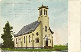1908 Vintage Postcard - Lutheran Church - Vancouver Washington