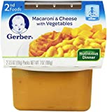 Gerber 2nd Foods, Macaroni and Cheese, 7-Ounce (Pack of 8)