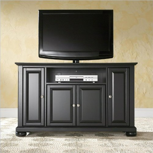 Crosley Furniture Alexandria 48-Inch TV Stand, Black