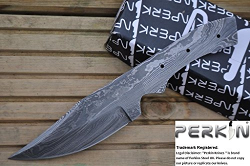 Sale - Damascus Steel Blade for Making Your Own Hunting Knife