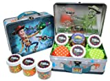 Disney Toy Story Cupcake Kit in Collectible Tin #2 by Crispie Sweets - Sprinkles and Baking Cups Set