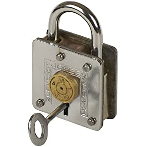 Houdini Lock And Key Puzzle Magic Trick: Two Keys One Solution for Magicians