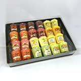 Yankee Candle - 24 Fruit Votive Sampler Branded Gift Box (Incl. 2x Black Cherry, 2x Cranberry Chutney, 2x Country Lemonade, 2x Fruit Fusion, 2x Mandarin Cranberry, 2x Mango Peach Salsa, 2x Pink Dragon Fruit, 2x Sicilian Lemon, 2x Sparkling Lemon, 2x Swee