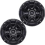"""Kicker DSC5 (41DSC54) 5 1/4"""" D-Series Coaxial 2-Way Car Speakers With 1/2"""" Tweeters"""