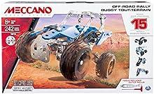 Comprar Meccano Off-Road Rally - juegos de construcción (Vehicle, Negro, Azul, Plata, Metal, De plástico, Caja)